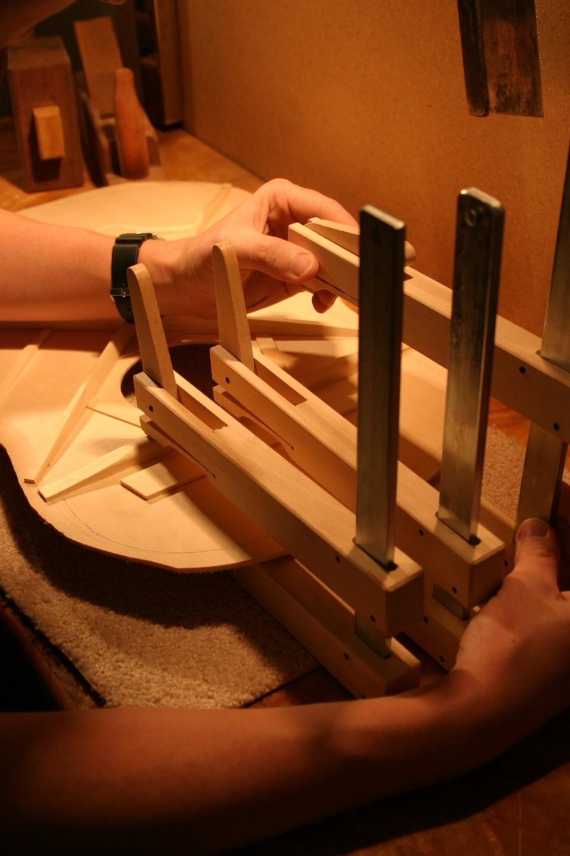 Perth Guitar Building Workshop Cam Clamps
