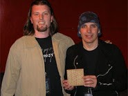 Andrew Ellis, Joe Satriani and ellis Stompbox