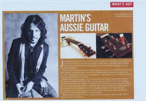 ellis artists Jeff Martin Guitar Review